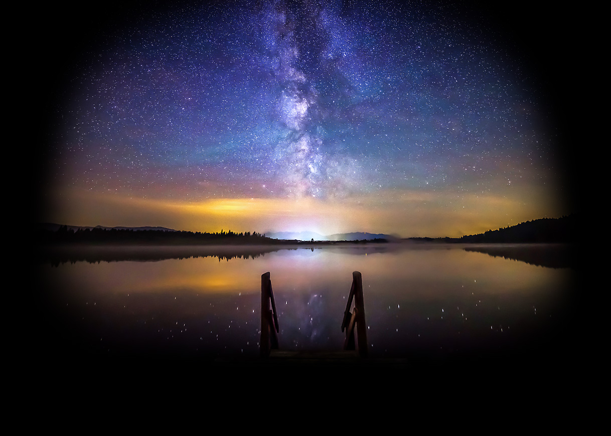 Milky Way Time-Lapse - One Night At The Lake