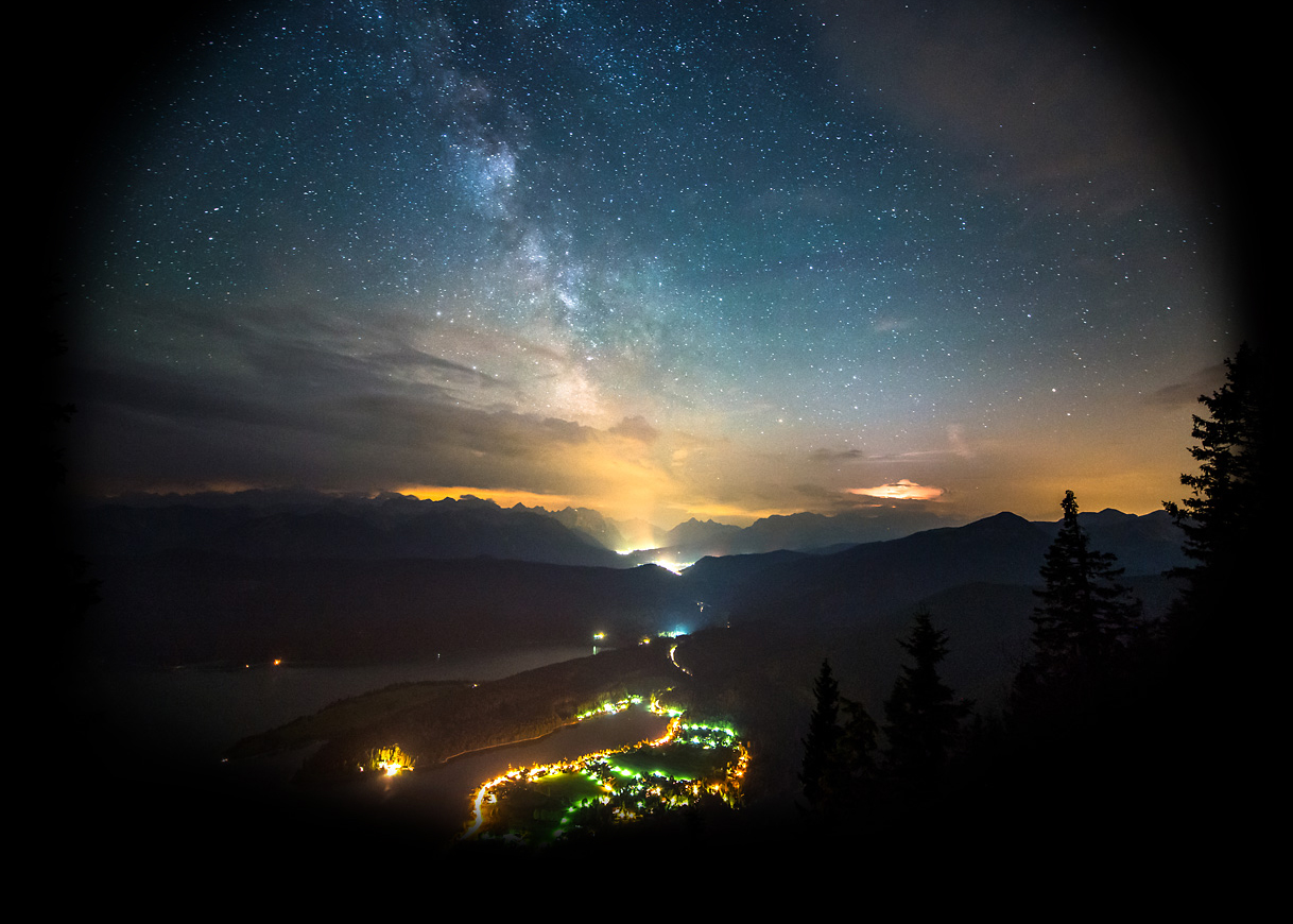 Bavarian Milky Way - Astrophotography Time-Lapse Movie