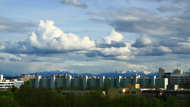 Skyscraper Alps