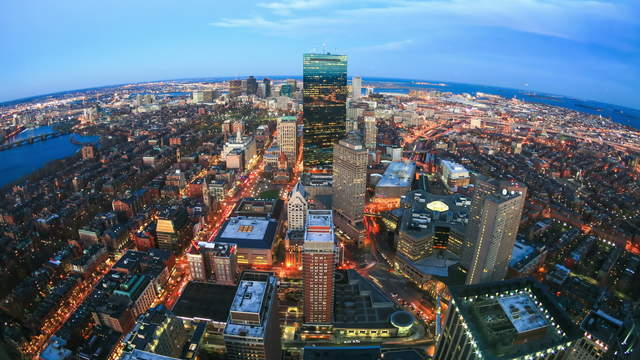 Boston Skyline Close Up