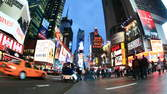 Time lapse clip - Times Square New York City