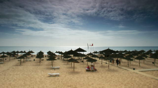 Tunisia Beach Tilt-Shift