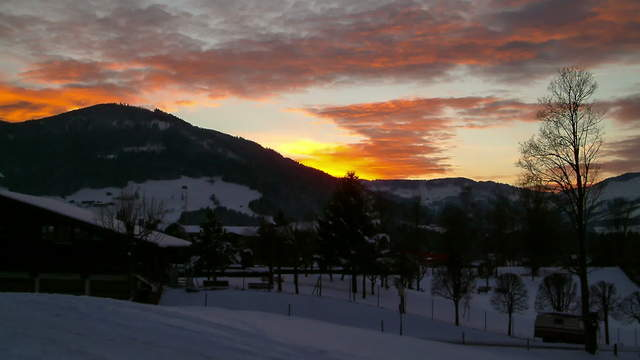 Time lapse clip - Sunset Westendorf
