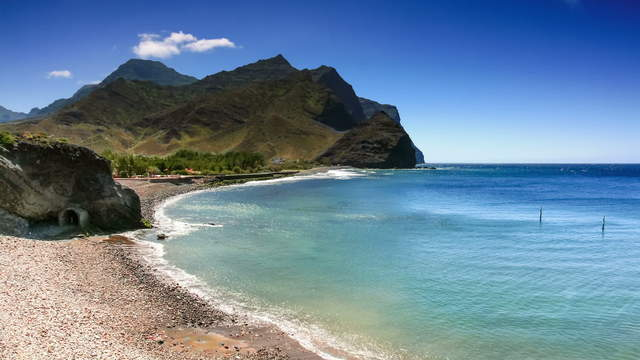 Gran Canaria Coast with Pebble Beach