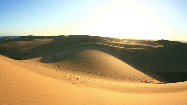Dunes of Maspalomas - Gran Canaria - Canary Islands