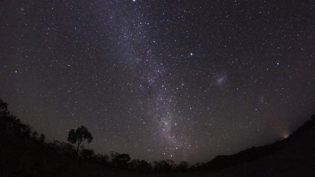 Milky Way at southern sky