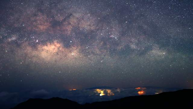 Milky Way Hawaii
