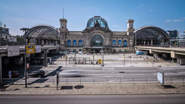 Dresden Main Station Time Lapse