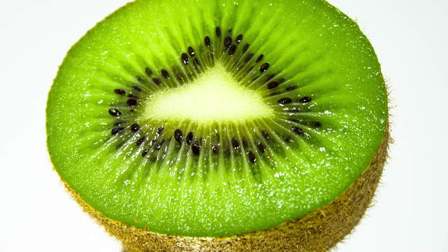 Rotting Kiwi Fruit