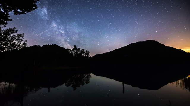 Motion Control Milky Way Time lapse