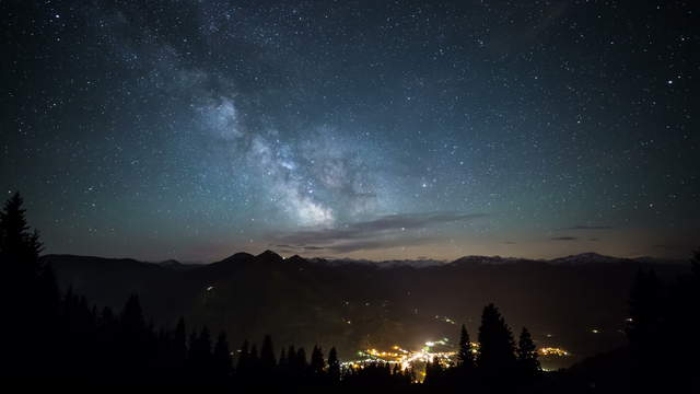 Milky Way: Astronomic 6K time-lapse video of our galaxy
