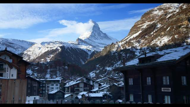 Zermatt with Mt. Cervin
