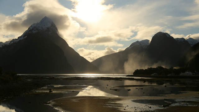Mittre Peak at Milford Sound