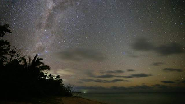 Milkyway in the Southsee