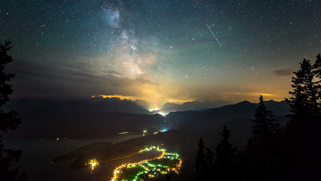Night Sky Milky Way Time-Lapse Photography | UHD 6K Video