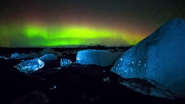Northern Lights Iceland 4K Stock Footage Video Download