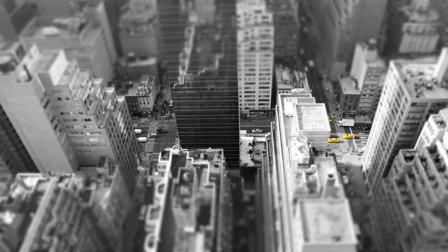 4K Video Loop - Yellow Flow New York