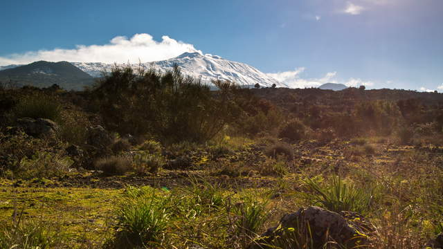 Sicily - Mt Etna Dolly Shot 6K