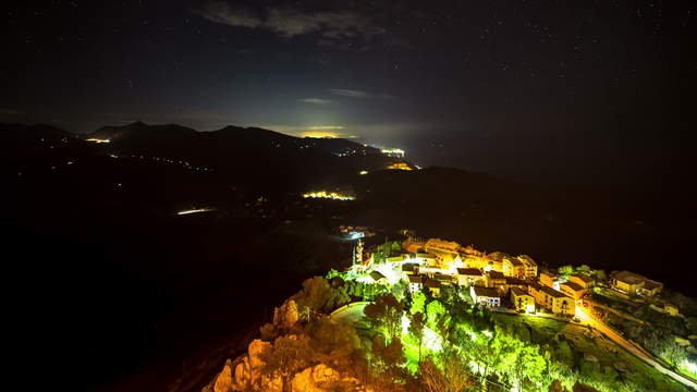 Sicily - Vista Polina at Night