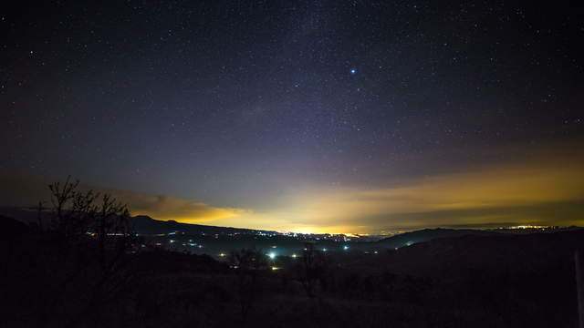 Sicily - Starry Sky Photography
