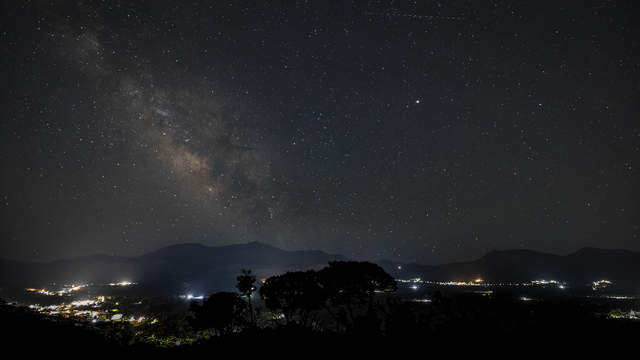 Time lapse clip - Milky Way over the Lasithi Plateau