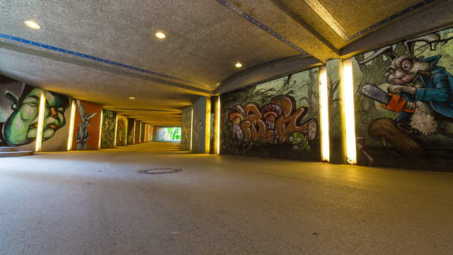 Angel of Peace Underpass