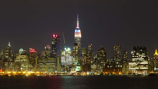 NY Skyline with Empire State Building
