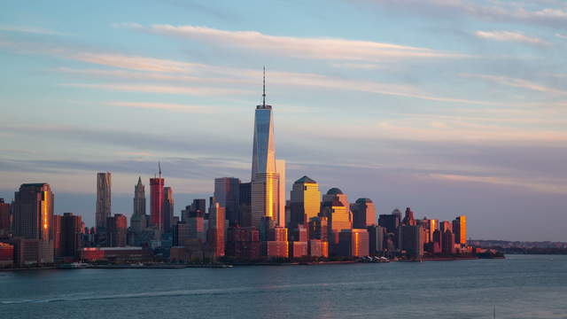 Sunset Skyline NYC