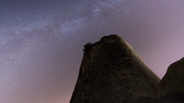 Milky Way and Tower