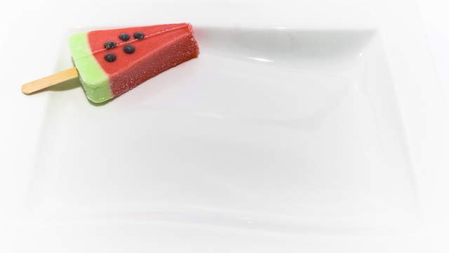 Melting Watermelon Ice Cream 02