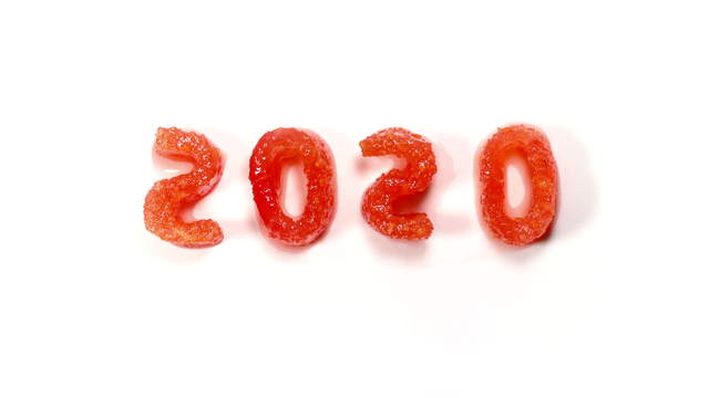 Ants eating 2020